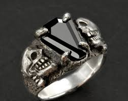 coffin ring coffin gem 5ct coffin ring custom setting