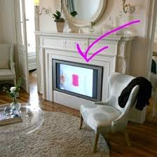 Decorative Flat Screen Tv Covers How To Hide A Flat Screen Tv 9 Ways To Make Your Look At Home