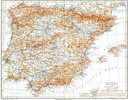 Map Of Seville Spain by Free Maps Of Europe