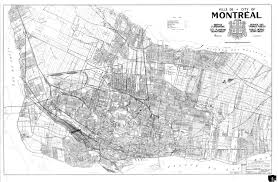 Map Of Montreal Underground River And Stream Map U2013 City Of Montreal Archives