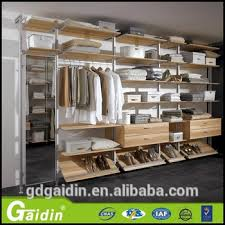 bedroom furniture self assembly pole for wardrobe part aluminum