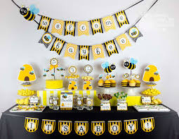 bumble bee baby shower owlie powlie