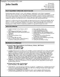Currently Working Resume Sample by Lead Machine Operator Resume Samples Machine Operator Resume