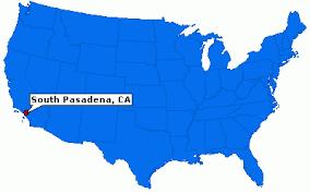 pasadena ca map south pasadena california city information epodunk