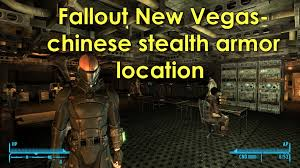 location chaises fallout vegas stealth armor location