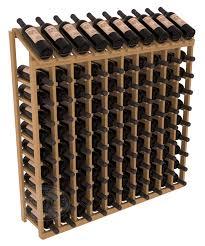 10 column 10 row display top kit instacellar wine rack