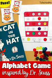 printable alphabet recognition games cat in the hat alphabet game inspired by dr seuss totschooling