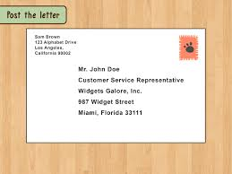 Business Letter Format Cc Before Enclosure The Best Way To Write And Format A Business Letter Wikihow