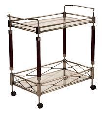 Osp Designs Melrose Serving Cart With Antique Brass Metal Finish Ergoback Com