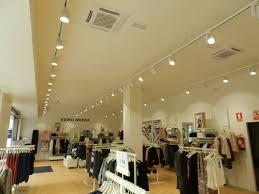 Retail Store Lighting Fixtures Vero Moda Retail Store Lighting In Spain Upshine Lighting