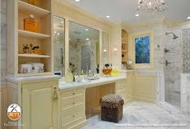 rutt handcrafted cabinetry elegant master bath suite