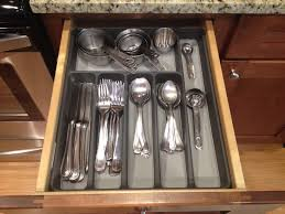 kitchen drawer organizer flatware kitchen drawer organizer ideas