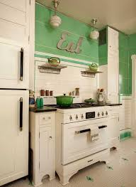 Vintage Kitchen Cabinet Best 25 Retro Kitchens Ideas On Pinterest 50s Kitchen Yellow