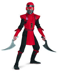 Ninja Halloween Costume Kids Amazon Shadow Ninjas Night Fury Red Viper Ninja Deluxe Boys