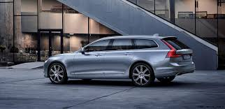2017 volvo semi 2017 volvo v90 debuts 400hp t8 engine low roof look marks