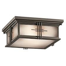 kichler 49164oz two light outdoor ceiling mount close ceiling