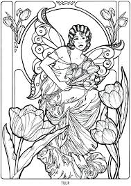 printable coloring pages renaissance mesmerizing renaissance art coloring pages tulip fairy fantasy myth