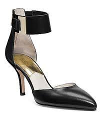 guiliana s women s shoes michael kors guiliana mid ankle strap pumps heels