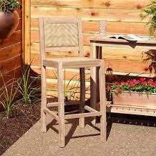 Three Piece Patio Furniture Set - matalinda 3 piece teak outdoor bar table set outdoor