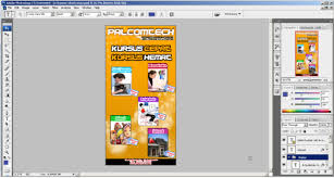 Cara Membuat Desain X Banner Di Photoshop | membuat desain x banner sederhana dengan adobe photoshop