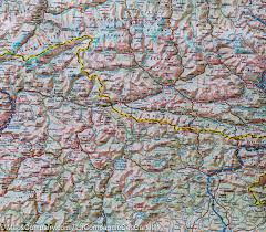 The Alps On World Map by Map Of The Alps National Geographic U2013 Mapscompany