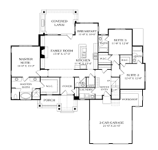 Garage Floor Plans With Bonus Room by One Story House Plans With Bonus Room