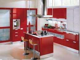 kitchen cabinet stunning red kitchen cabinets awesome red