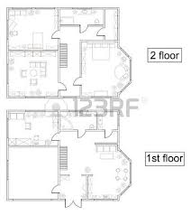 home floor plan drawing floor plan stock photos royalty free business images