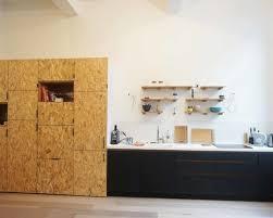 cuisine osb cuisine éaire en panneaux fenix et osb
