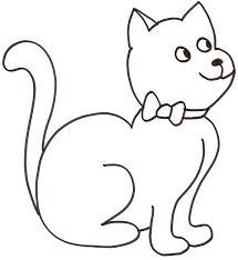 127 dessins de coloriage chat à imprimer