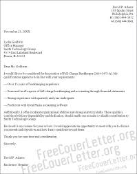 Example Cover Letter And Resume by Sample Cover Letter For Bookkeeper Http Www Resumecareer Info