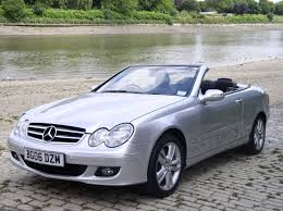 classic chrome mercedes benz clk 350 avantgarde 2006 06 silver