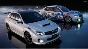 silver subaru wrx subaru impreza wrx sti s206 with demo car in night wallpaper