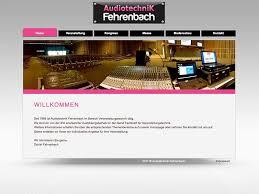 grafik design freiburg webdesign audiotechnik fehrenbach in freiburg