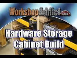 Hardware Storage Cabinet Hardware Storage Cabinet Build Using Dewalt Organizers Free