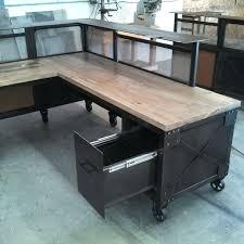 Steel Pipe Desk Desk How To Build An L Shaped Desk From Scratch Custom Built L