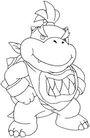 Mario Bowser Coloring Free Download