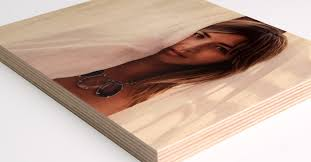 wood print wood printing with bright white grain finishing options