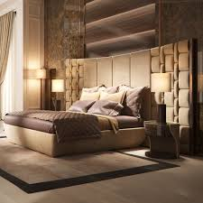 contemporary designer bed with feature headboard juliettes