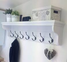 entryway hooks and shelves best wall coat rack ideas on entryway