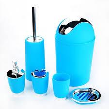 Bathroom Necessities 6 Pcs Set Bathroom Necessities Toothbrush Holder Toilet Brush Soap