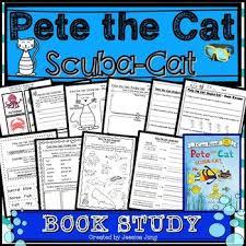 pete the cat scuba cat by jung teachers pay teachers