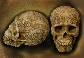 Celtic Skull - celtic skull gift from by kashimitsu on deviantart