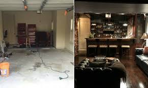 Epic Home Design Fails by Houston Man Rehabs His Garage To Create An Epic Man Cave Houston