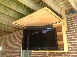 Outdoor Patio Fans Wall Mount by Best 25 Outdoor Tv Covers Ideas Only On Pinterest Weatherproof