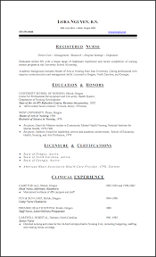 Nursing Resume Examples With Clinical Experience by Linux Administration Cover Letter