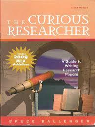 bruce ballenger the curious researcher mla upda bookos org