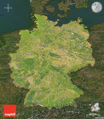 Maps Of Germany by Free Satellite Map Of Germany Darken