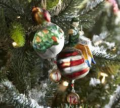 twelve days of ornaments set of 12 pottery barn