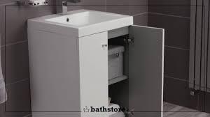 alpine duo 500 basin and floorstanding vanity unit youtube